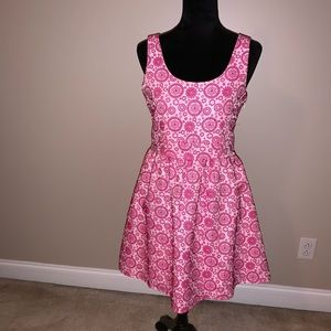 Pretty in Pink A Line Dress